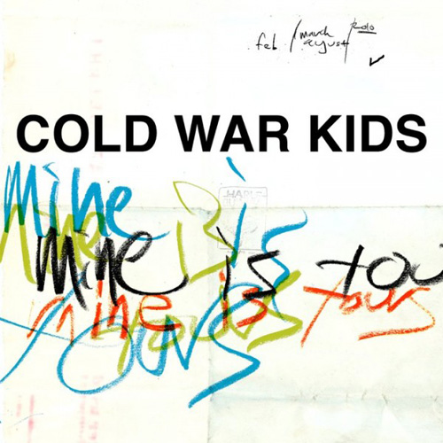 coldwarkidsmineisyours Cougar Microbes Top Albums of 2011: Cold War Kids   Mine Is Yours