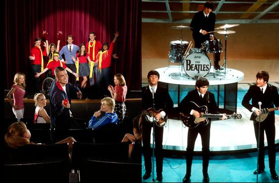 Glee TheBeatles When Good Music Is Bad Business