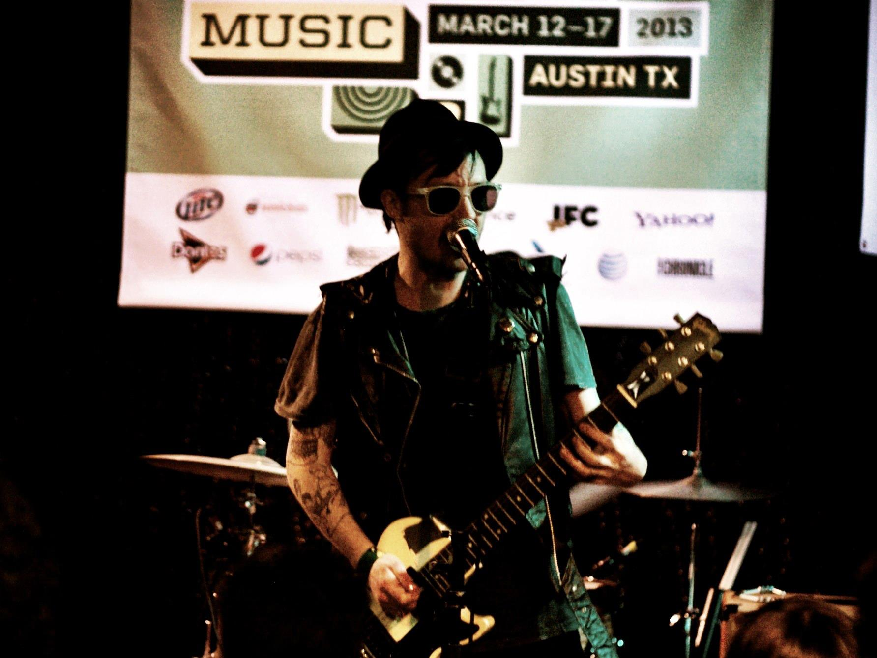 The Death set live at SXSW SXSW 2013 Day 2 (Feat. Cave Painting, Papa, Poolside, Japandroids, Iggy And The Stooges, Caveman, Pickwick, The Death Set and Divine Fits)