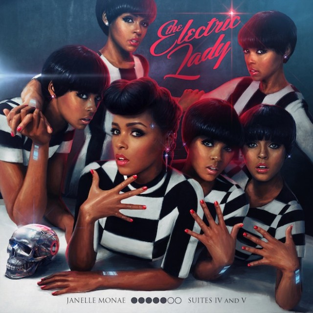 Janelle Monae Electric Lady albums of 2013 Cougar Microbes Top Albums of 2013: Janelle Monae   The Electric Lady
